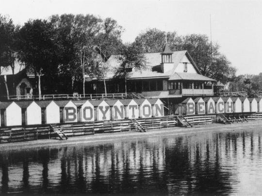 Boynton Beach in Woodbridge, circa 1895.