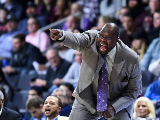 Georgetown Hoyas head coach Patrick Ewing also is Most