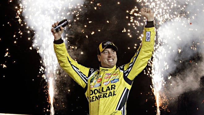 Kyle Busch has won his last six starts in the Truck series.