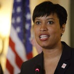 Muriel Bowser, mayor of the District of Columbia, speaks during a press meeting in Havana, Cuba, on Feb. 22, 2016.