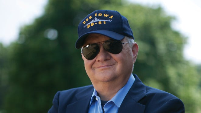Tom Clancy in Huntingtown, Md. Clancy, the bestselling author of 'The Hunt for Red October' and other wildly successful technological thrillers, has died. He was 66.