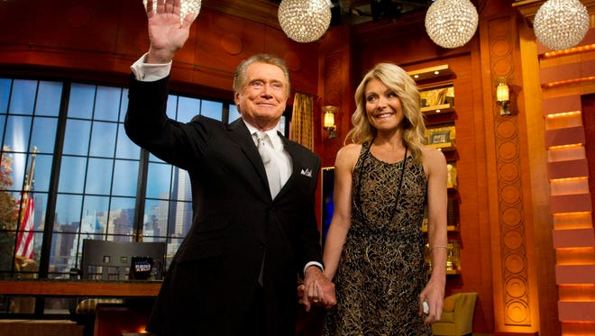 Regis Philbin says he hasn't stayed in contact with Kelly Ripa since leaving 'Live' in 2011.