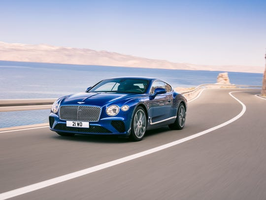 U.S. 2019 Bentley Continental GT