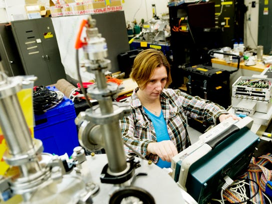 ORNL scientist and Liane B. Russell fellow Kelly Chipps