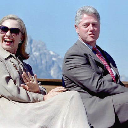 Take your money and stay out of politics, Clintons