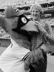 While at Indiana State University, Larry Bird went