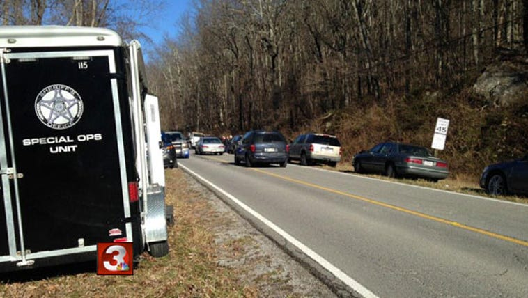 GBI and Dade County authorities are investigating human