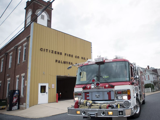 Palmyra's Citizens Fire Company sounded its siren one