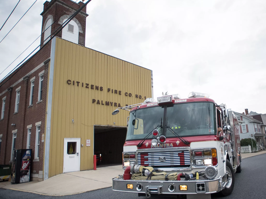 Palmyra's Citizens Fire Company sounded its siren one last time on Monday, Aug. 14 at 27 N. College St. before moving to its new location at 35 W. Walnut St.