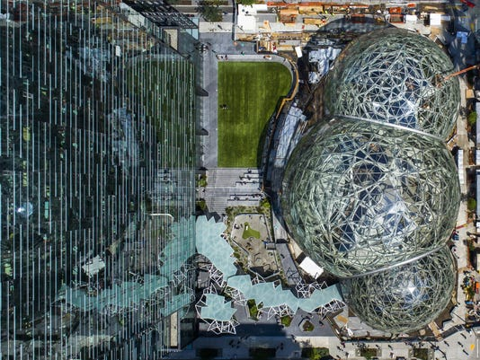 Thanks to Amazon, Seattle is now Americaís biggest company town