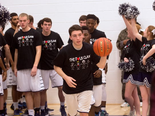 Members of the West York High School basketball team
