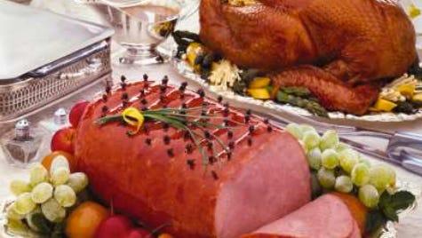 Ham or turkey?