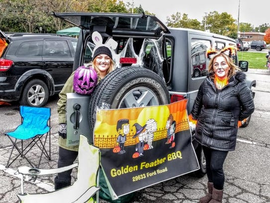 It was a day of smiles at Trunk orTreat.