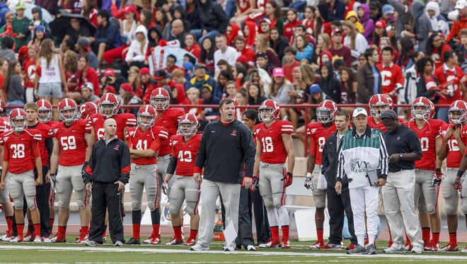 David Archer, shown during his coaching debut two years ago at home against Bucknell, begins his third season at the helm of his alma mater on Saturday when Cornell hosts the Bison at 3 p.m. at Schoellkopf Field.
