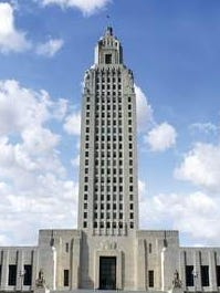 Louisiana State Capitol in Baton Rouge.