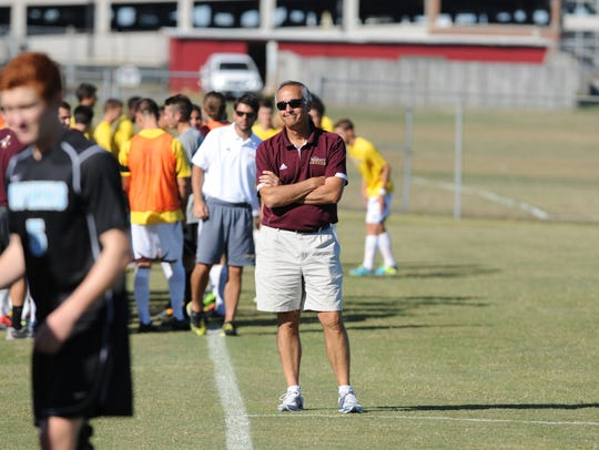 Salisbury University head coach Gerry DiBartolo will