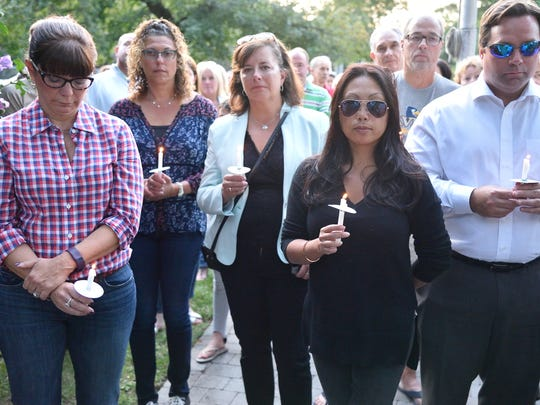 Glen Rock residents gathered at Memorial Park to honor those lost in 9/11