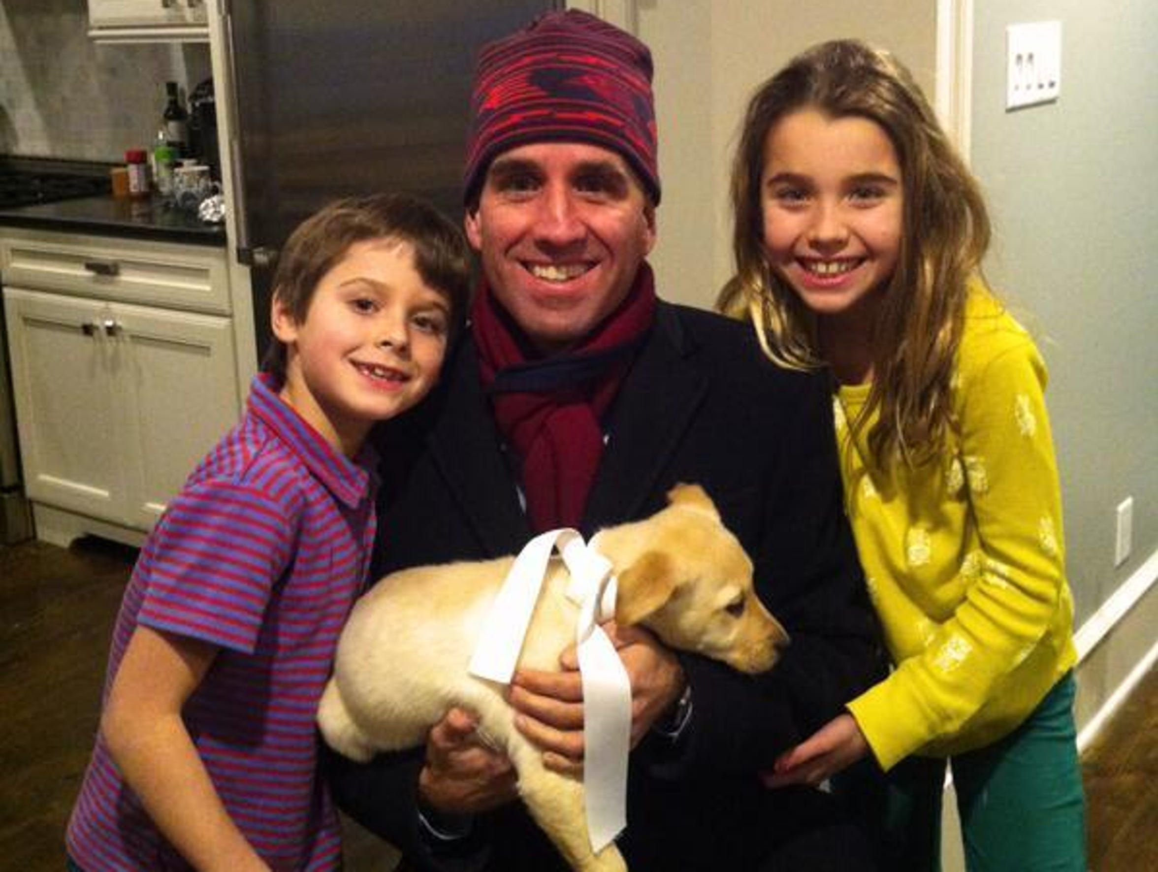 Beau Biden posted this picture on his personal Twitter