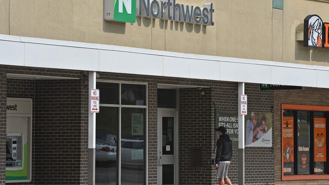 The Northwest Bank branch, 1328 E. Grandview Blvd. in Erie, is shown on Thursday. The office is scheduled to close the week of Dec. 14.