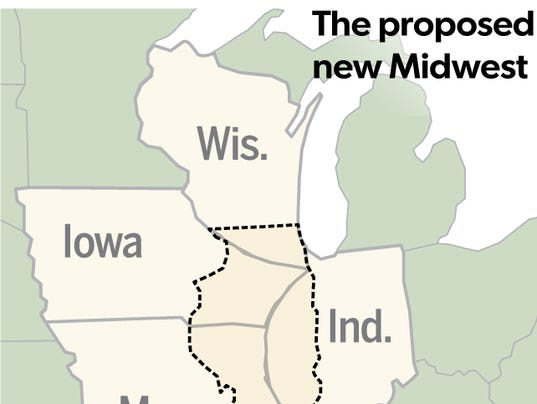 Chicago Tribune columnist suggests wiping Illinois off the map