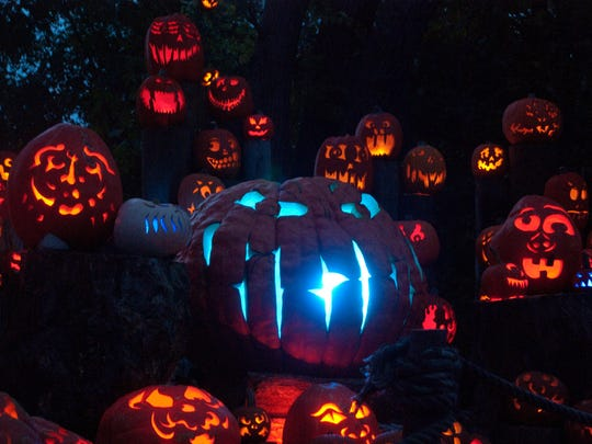 Jack-o-lantern Spectacular display at Roger Williams