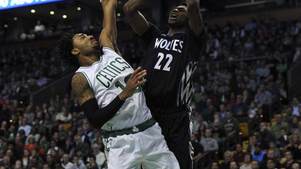 NBA: Minnesota Timberwolves at Boston Celtics