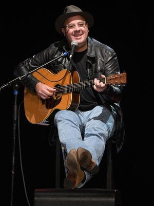 Vince Gill performs at the 2016 All for the Hall Los Angeles Benefit Concert at The Novo by Microsoft on Tuesday, Sept. 27, 2016, in Los Angeles.