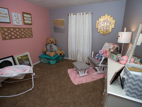 The room of Brynlee Jones who died at an unlicensed in-home daycare facility last year.