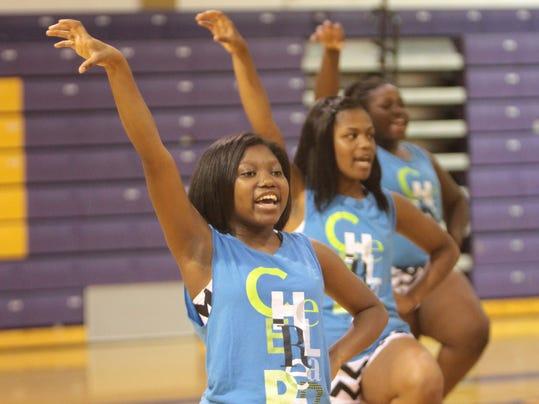 Wossman Cheerleaders