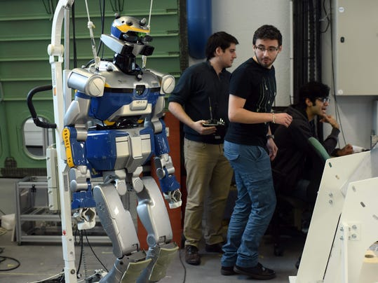 FRANCE-INDUSTRY-TECHNOLOGY-SCIENCES-ROBOT