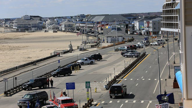 A scenic view of Ocean Boulevard at Hampton Beach, which could see significant changes.