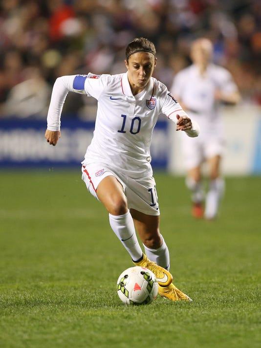 How Carli Lloyd Learned To Lead U S Women S Soccer Team