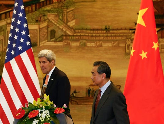 EPA CHINA USA KERRY DIPLOMACY POL DIPLOMACY CHN