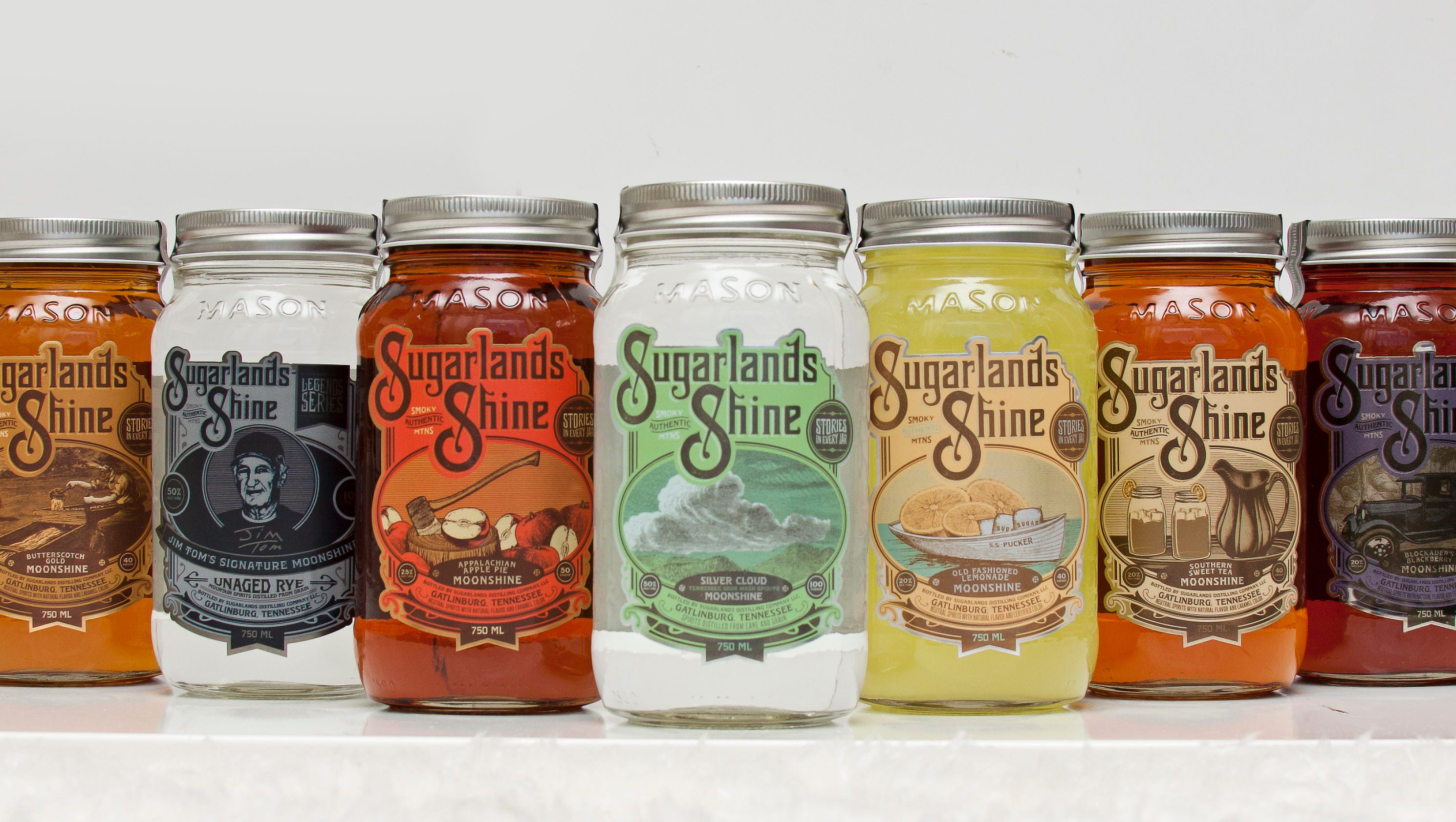 Craft Cocktail Moonshine Recipes From Sugarlands Shine