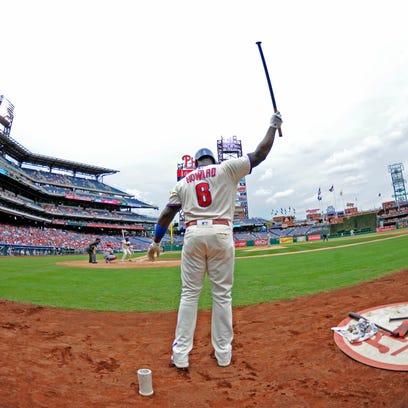 Philadelphia Phillies first baseman Ryan Howard on