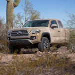 Toyota's redesign of its segment-dominating Tacoma midsize pickup unveiled on Monday at the Detroit Auto Show.