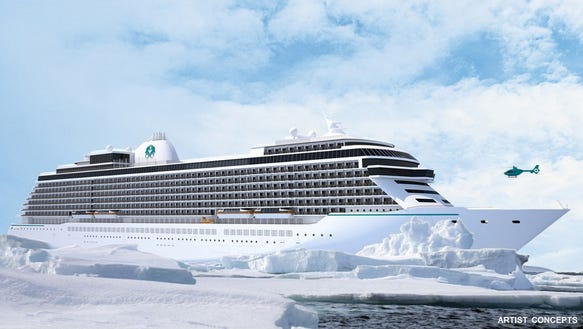 Luxury cruise line Crystal has signed a letter of intent