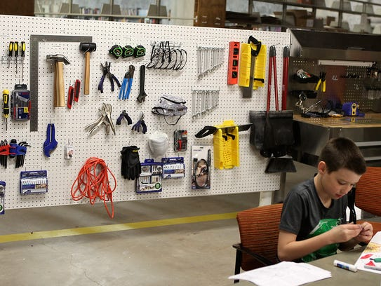 Stephens Central Library's new STEAM Central makerspace