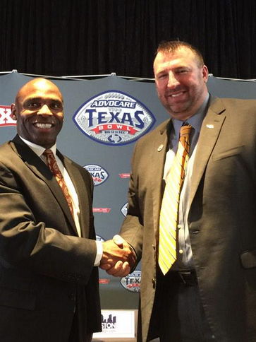 Bret Bielema and Charlie Strong.