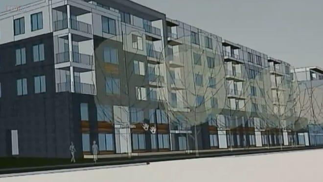 TWG Development LLC plans a 200 unit apartment project at College Avenue and Kessler Boulevard.