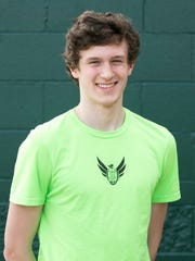 West Salem High School track and field athlete Jacob
