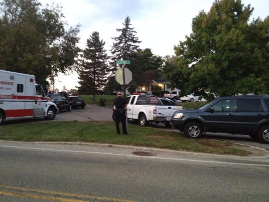 SWAT and police units respond to the scene of early Thursday morning. One man was taken into custody.
