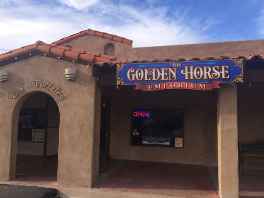 The Golden Horse Emporium.