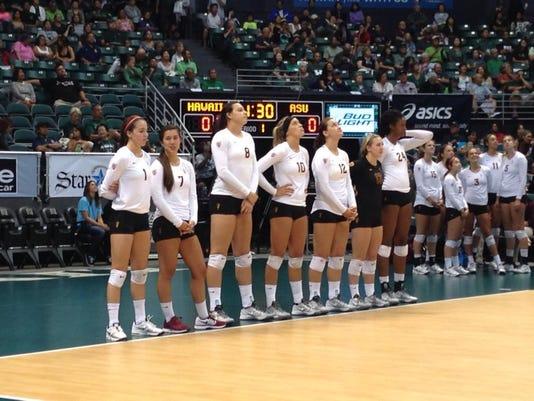 ASU volleyball