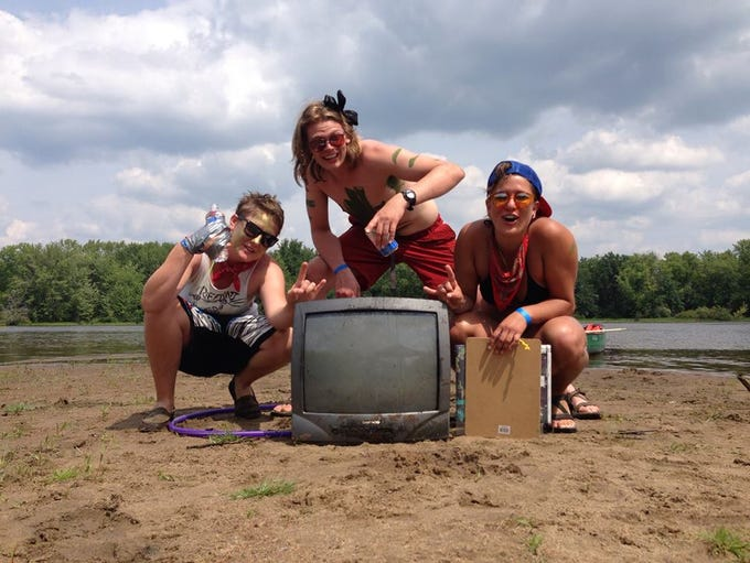 Here is what the Riff Rats found at the Paddle Quest held in Stevens Point in the summer of 2014.