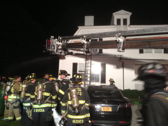 Bedford house fire