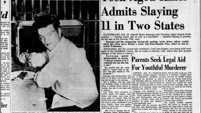 The cover of the Tribune on Jan. 31, 1958.