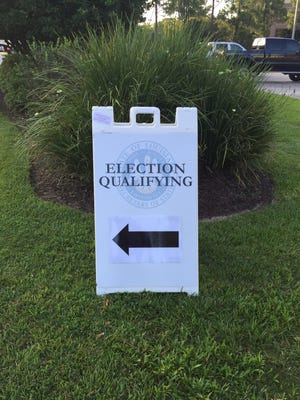 Candidates are qualifying for the Nov. 8 election Wednesday, Thursday and Friday in Baton Rouge.