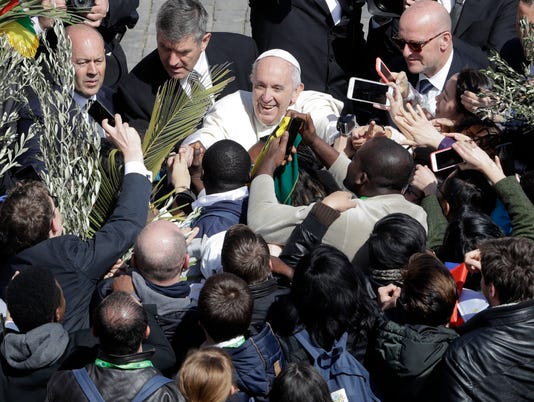 AP VATICAN PALM SUNDAY I VAT