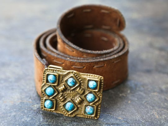 Interior designer Tammy Randall describes her style as easy, timeless and accessorized. Stevie Nicks has been a style influence as well as Dolly Parton 'for doing it her way.'Interior designer Tammy Randall describes her style as easy, timeless and accessorized. Stevie Nicks has been a style influence as well as Dolly Parton 'for doing it her way.' This leather belt with turquoise stone accents is a favorite.